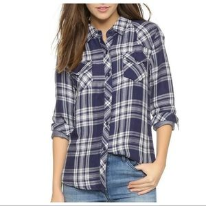 RAILS Kendra Plaid Button Down Shirt NWT SIZE XL